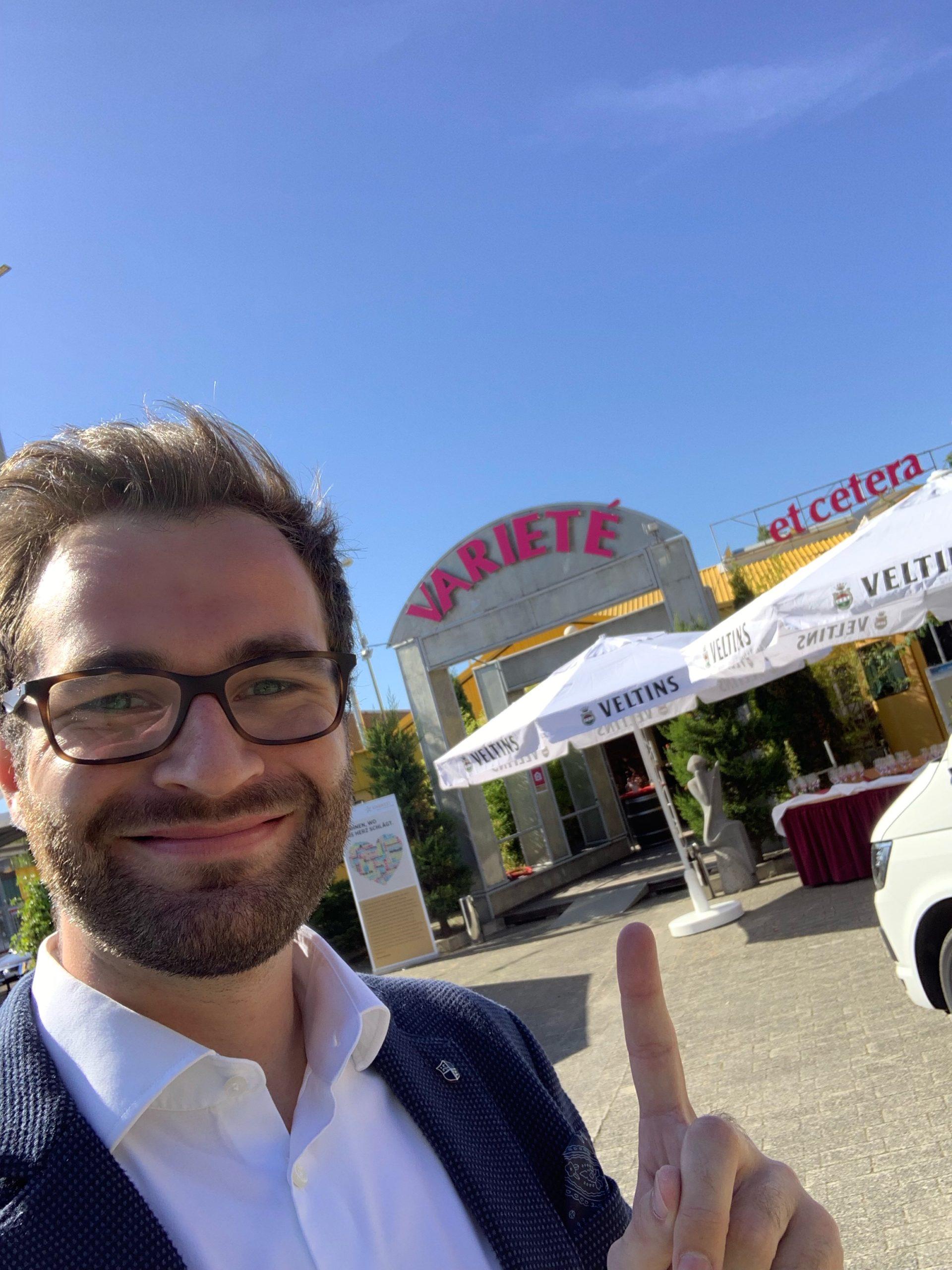 Phil Schmitz im Varieté et Cetera in Bochum